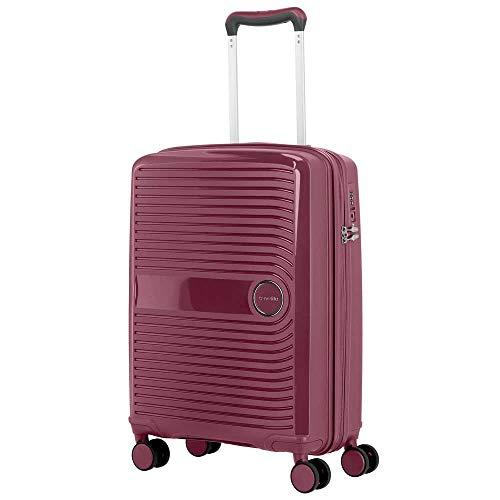 Travelite Ceris - Maleta con 4 ruedas (55 cm) Violett_brombeer, Violett talla única