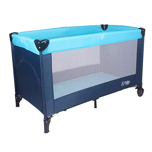 babycab Le lit parapluie Sophie, marine/bleu ciel