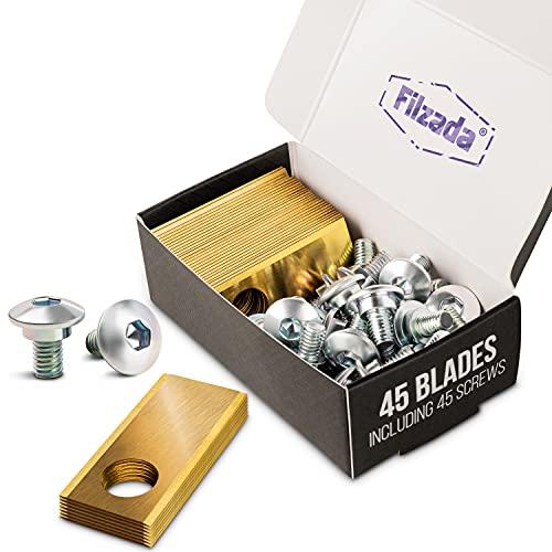 Filzada® 45x Titan Ersatzklingen...
