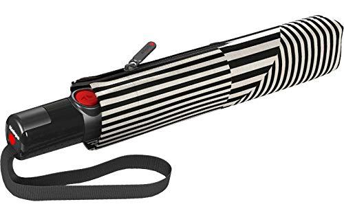 Knirps TS.200 Medium Duomatic Regenschirm Taschenschirm TS200 Auf-Zu Automatik sturmfest bis 120km/h moon black