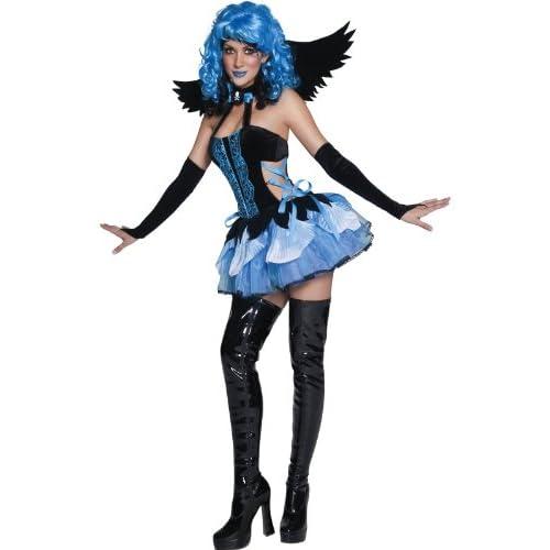 SMIFFYS Costume Halloween/Carnevale da Angelo - orrore sexy donna