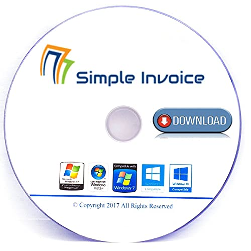 Simple Invoice | Software for Managing Invoices and Payments [Download] | Software Registration Code 1-24H Download link via Amazon Message/Email