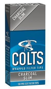 [colts] コルツ スリム チャコール フィルター 102個入りx10パック 手巻きタバコ