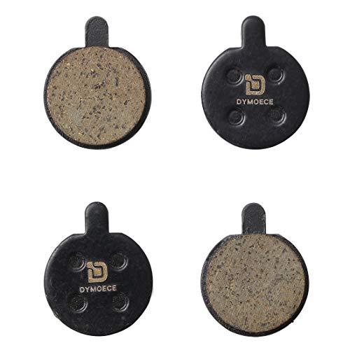 Dymoece 2 Sets Organic Resin Bicycle Disc Brake Pads for Zoom DB280 DB550 DB450 DB350