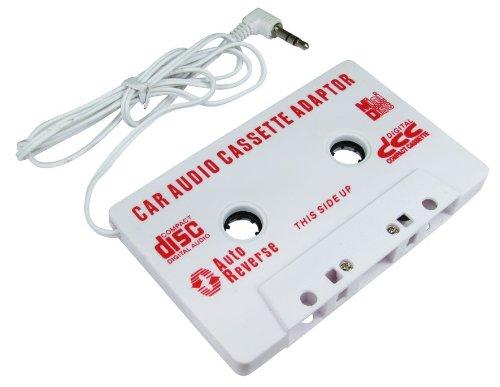 World of Data ® - LMLS Adaptador audio cassette de coche - Conector de 3,5 mm - Juega tu teléfono