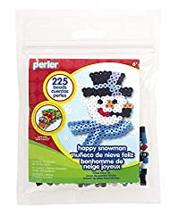 perler Bead Kit Happy Snowman