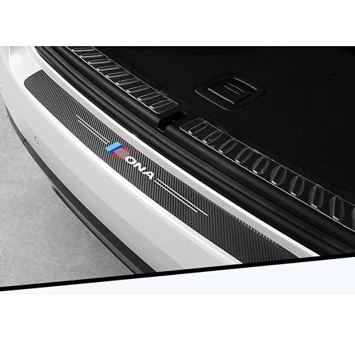 Ninuypoy Pegatinas Protectoras Decorativas para Maletero de Coche, modificación de Parachoques, para Hyundai Kona 2019 2020, Accesorios de Estilo de Coche