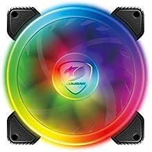 Cougar Hydraulic Vortex RGB SPB 120 mm PMW HDB Cooling Fan with addressable RGB and Omnidirectional Lighting