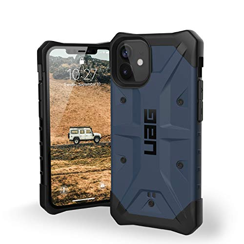 URBAN ARMOR GEAR UAG Designed for iPhone 12 Mini Case [5.4-inch Screen] Rugged Lightweight Slim Shockproof Pathfinder Protective Cover, Mallard