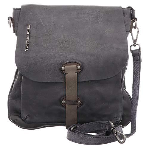 Taschendieb | Falcostiege 1 | Umhängetasche - grau | anthrazit, Farbe:grau, Größe:1
