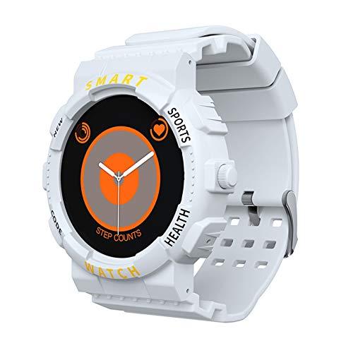 Gulu 2021 Smart Watch Men Woman Z19 Bluetooth Llamada Muñeca Conectada para La Pulsera De Fitness Deportes Smartwatch Waterproof Watch,Blanco