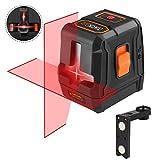Line Laser, Tacklife SC-L07 Cross Laser Level 15M with Advanced 2 Laser Heads