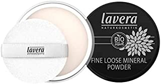 Fine Loose Mineral Powder by lavera Transparent