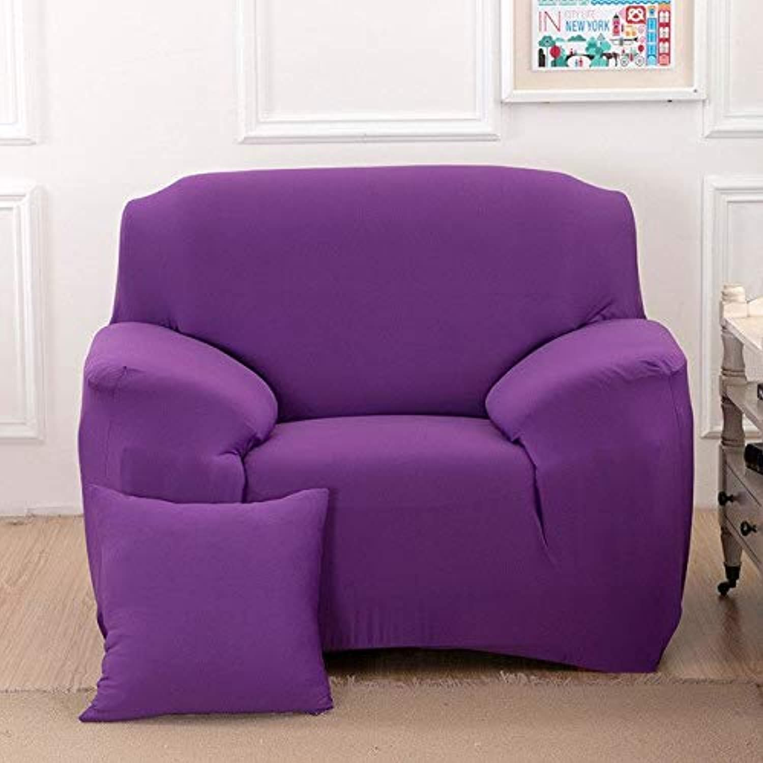 Spandex Elastic Geometric Universal Sofa Cover L-Shape Slipcovers All-Inclusive Predector Stretch Single Couch Cover Living Room   1, Two Seater