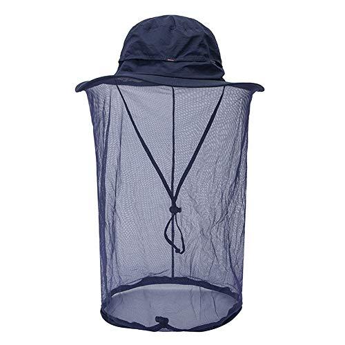 WXQY Outdoor Muggen Net Jungle Gezicht Masker Anti-muggen Sneldrogende Cap Sport Cap Vissen Hoed Wandelen Hoed Vrouwelijk/Mannelijk