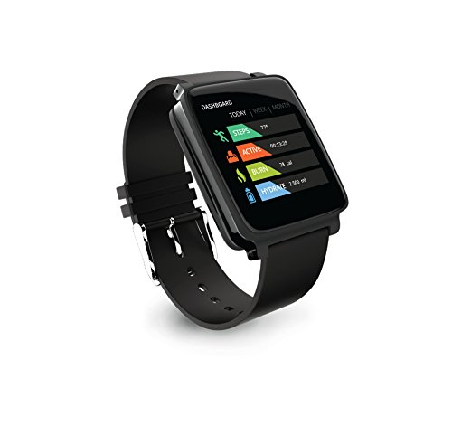 HUG HG01 Smart Watch (Midnight Black)