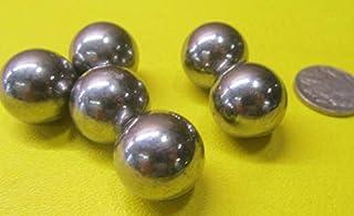 10 Pcs. Black Neoprene Rubber Balls.625 Diameter