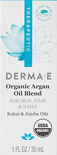 DERMA E Organic Argan Oil Blend, 1 Fl oz
