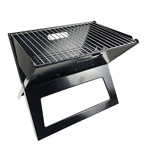 Review Charcoal Grill Barbecue Barbecue Charcoal Grill Folding Portable BBQ Tool Portable Camping Co...