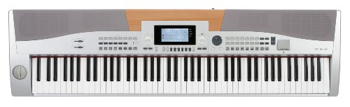 Classic Cantabile SP-15 Stagepiano silber (88 Tasten E-Piano, 560 Sounds, 64-fach polyphon, Metronom, SD-Slot, MIDI, USB)