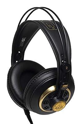 AKG Pro Audio K240 STUDIO Over-Ear, Semi-Open, Professional Studio Headphones by JBL