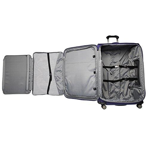 Travelpro Crew 11-Softside Expandable Luggage with Spinner Wheels, Indigo