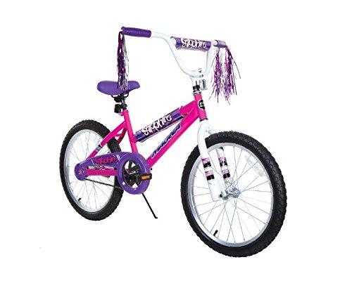 Dynacraft 8109-25ZTJ Girls Sapphire Magna Bike, Silver / Pink, 20'