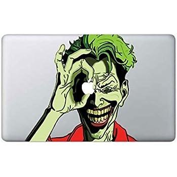 17 Joker Apple MacBook Decal Sticker 11 12 13 15 and 17models Type 2
