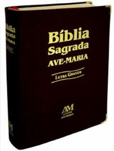 Bíblia letra grande - preta