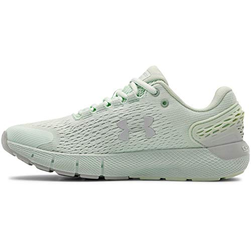 Under Armour Charged Rogue 2, Zapatillas De Running Mujer, Sea Glass Azul Blanco Halo Gray 402, 38 EU