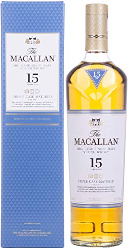 The Macallan 15 Years Old TRIPLE CASK MATURED Highland Single Malt Scotch Whisky  Whisky  (1 x 0.7 l)
