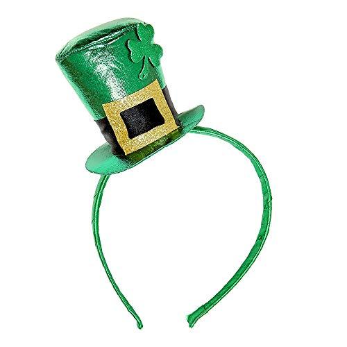 "Widmann 07057?""St. Patrick's Day Metallic Mini Chapeau sur Serre-tête"