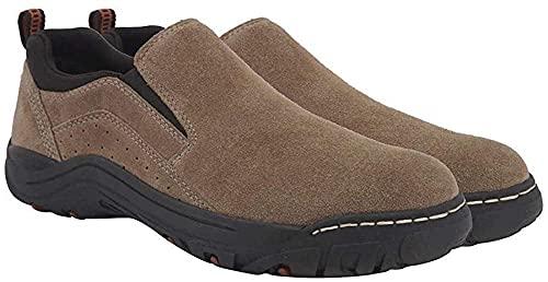 Khombu Men's Liam Suede Water Resistant Shoe (Brown, Numeric_10_Point_5)