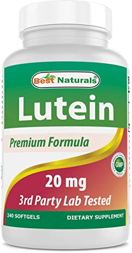 Lutein 20 mg 240 Softgels by Best Naturals