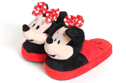 Disney Stompeez - Minnie Maus - Hausschuhe - S