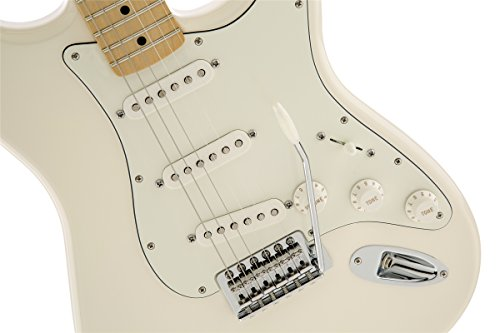 Fender Standard Stratocaster Electric Guitar - Maple Fingerboard, Arctic White