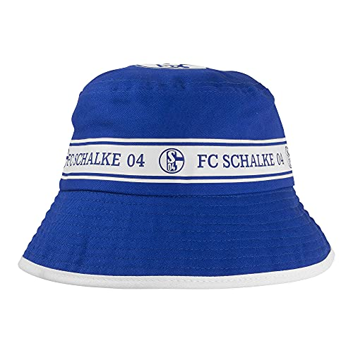 FC Schalke 04 Fischerhut Kids Kinder Fanartikel Fischermütze Anglerhut Sonnenhut Junge Mädchen Bucket Hat Mütze