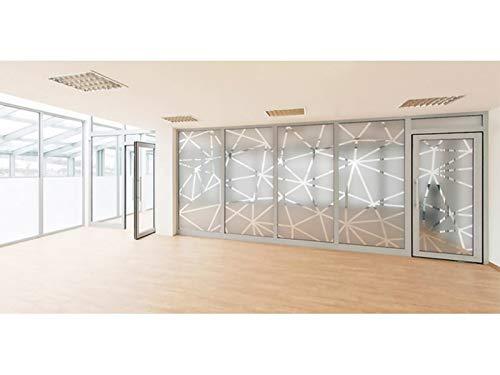 ROTULA TU MISMO Vinilo Adhesivo para Ventana Origami | Decoración Película Estática Ventana para Hogar |Protección de la Intimidad (45 x 200)