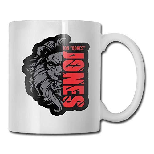 6ix-9ine Mug Designs - Taza de café de cerámica para bebidas de té de agua, 11 oz, para hogar u oficina, color blanco