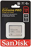 Sandisk Extreme Pro - Flash memory Card - 128 GB - CFast 2.0 - Silver...