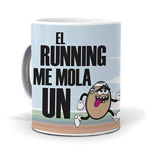 Taza El Running me Mola un Huevo