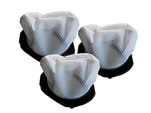 DOMO 3er-Set Ersatz Staubfilter für Handstaubsauger DO211S Staubsaugerbeutel; DO211-Set