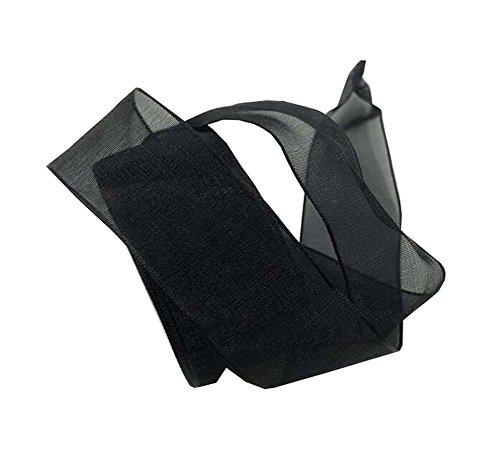 Black Temptation Lacets de Ruban de Satin Plat décontracté Doux Sneaker Shoestrings pour Femmes Filles, A6