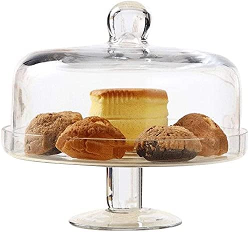 European Manufacturer direct delivery Cheap mail order specialty store Cake Stand with Dome Home Sandwich C Dessert Candy Jar