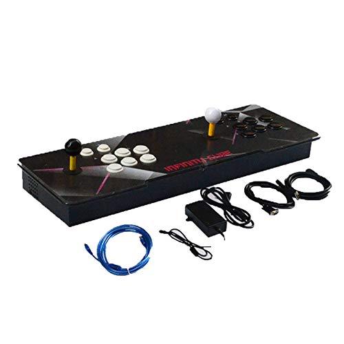 Wsaman 11s 3399 Home Arcade Game, 3D Video Home Spielkonsole mit Kundenbezogene Schaltflächen für Computer Projector TV Elektronische Spielekonsole,2