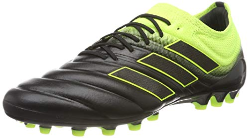 adidas Copa 19.1 AG, Botas de fútbol para Hombre, Multicolor (CBlack/Syello/CBlack), 39 1/3 EU