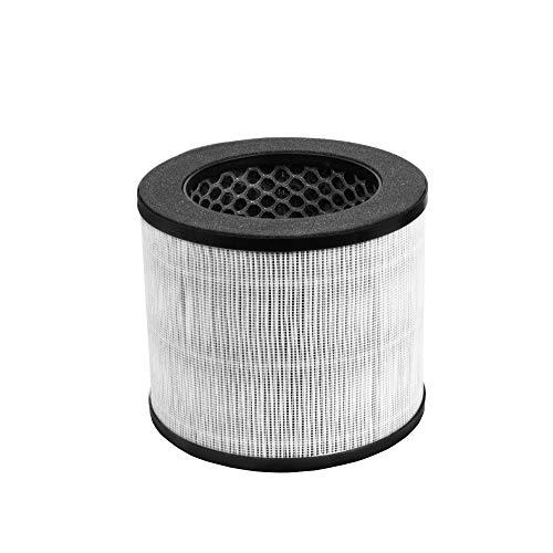 Turbionaire D20TP T-Performance Filter para purificador de aire D20AD, prefiltro, True HEPA 13, carbón activo