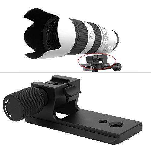 Topiky lensstatiefvoet, vervangzobjectief kraag adapterringhouder compatibel met AS standaard snelwisselplaat voor Sony FE 70-200mm F2.8GM OSS/FE 100-400mm F4.5-5.6GM OSS