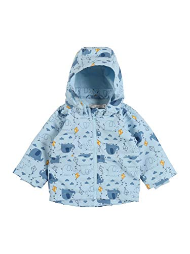 NAME IT Baby-Jungen NBMMAX Jacket Elephant Jacke, Dream Blue, 80