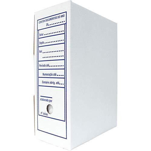 Klabin 61556, Arquivo Morto, Papelão 35x13.3x24.7 cm, 240 g, Multicor, Pacote de 25
